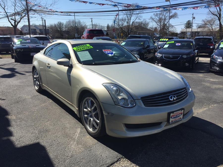2007 Infiniti G35 Coupe 2dr Manual, available for sale in Lindenhurst, New York | Rite Cars, Inc. Lindenhurst, New York