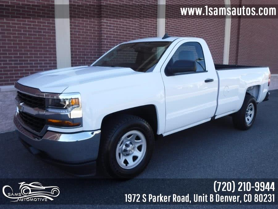 Used 2017 Chevrolet Silverado 1500 in Denver, Colorado | Sam's Automotive. Denver, Colorado