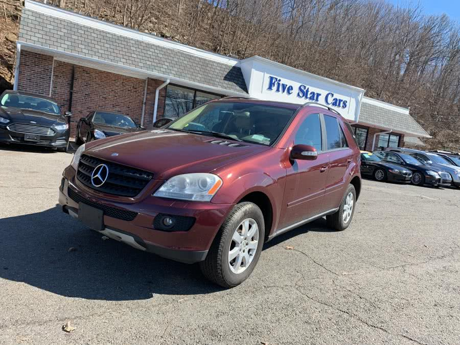 Used Mercedes-Benz M-Class 4MATIC 4dr 3.5L 2006 | Five Star Cars LLC. Meriden, Connecticut