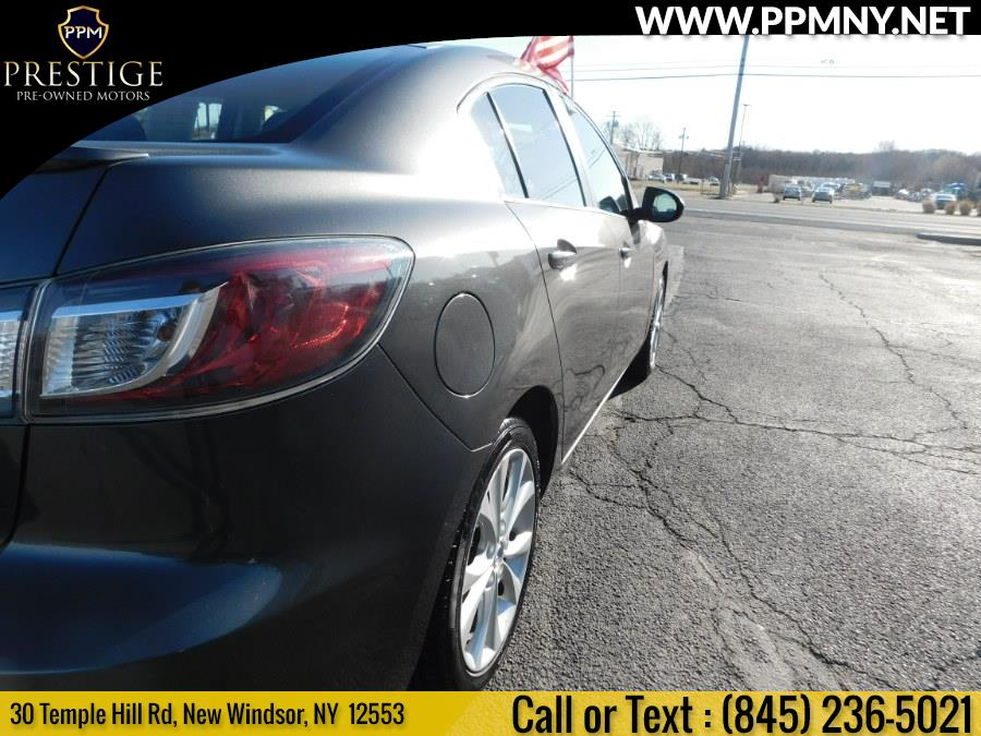 2011 Mazda Mazda3 4dr Sdn Auto s Grand Touring, available for sale in New Windsor, New York | Prestige Pre-Owned Motors Inc. New Windsor, New York