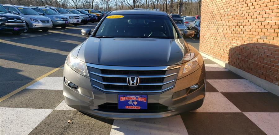 2012 Honda Crosstour 4WD V6 5dr EX-L, available for sale in Waterbury, Connecticut | National Auto Brokers, Inc.. Waterbury, Connecticut