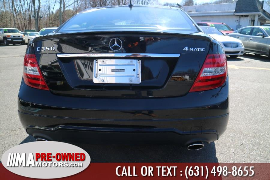 2014 Mercedes-Benz C-Class 2dr Cpe C 350 4MATIC, available for sale in Huntington, New York | M & A Motors. Huntington, New York