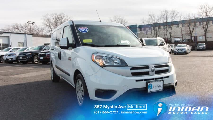 Used 2016 Ram ProMaster City Cargo Van in Medford, Massachusetts | Inman Motors Sales. Medford, Massachusetts