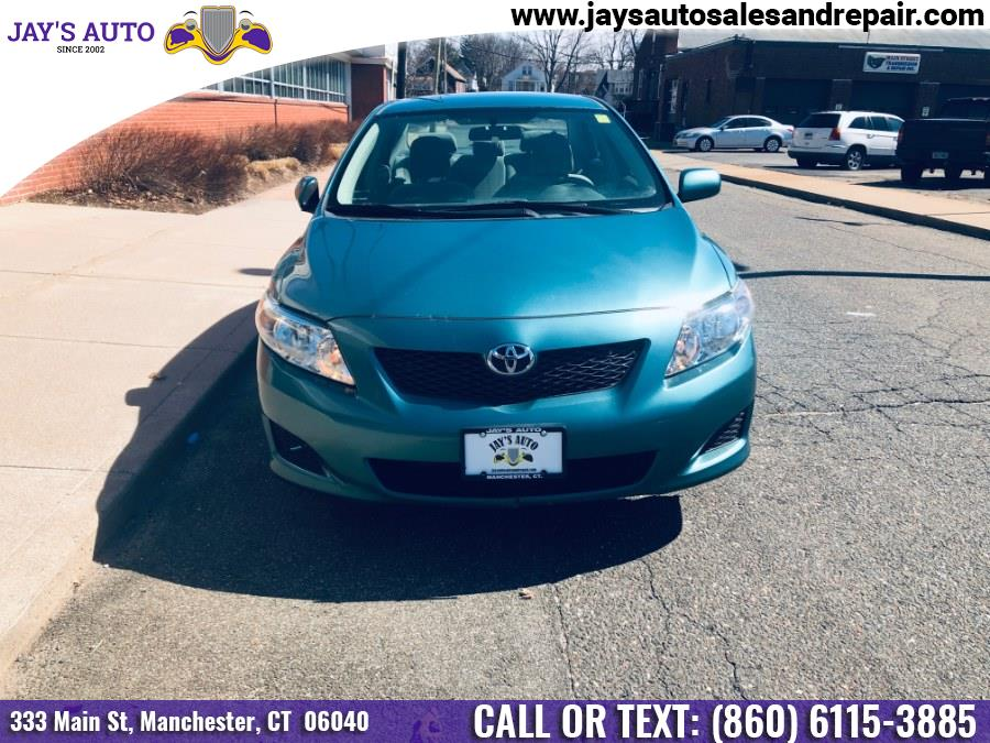 2010 Toyota Corolla 4dr Sdn Auto LE (Natl), available for sale in Manchester, Connecticut | Jay's Auto. Manchester, Connecticut
