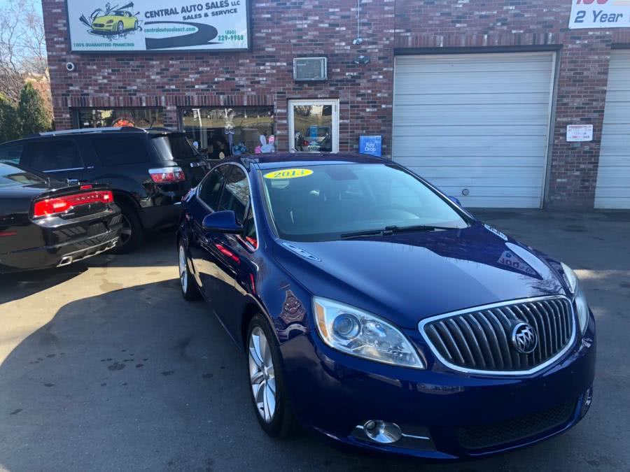 2013 Buick Verano 4dr Sdn Leather Group, available for sale in New Britain, Connecticut | Central Auto Sales & Service. New Britain, Connecticut