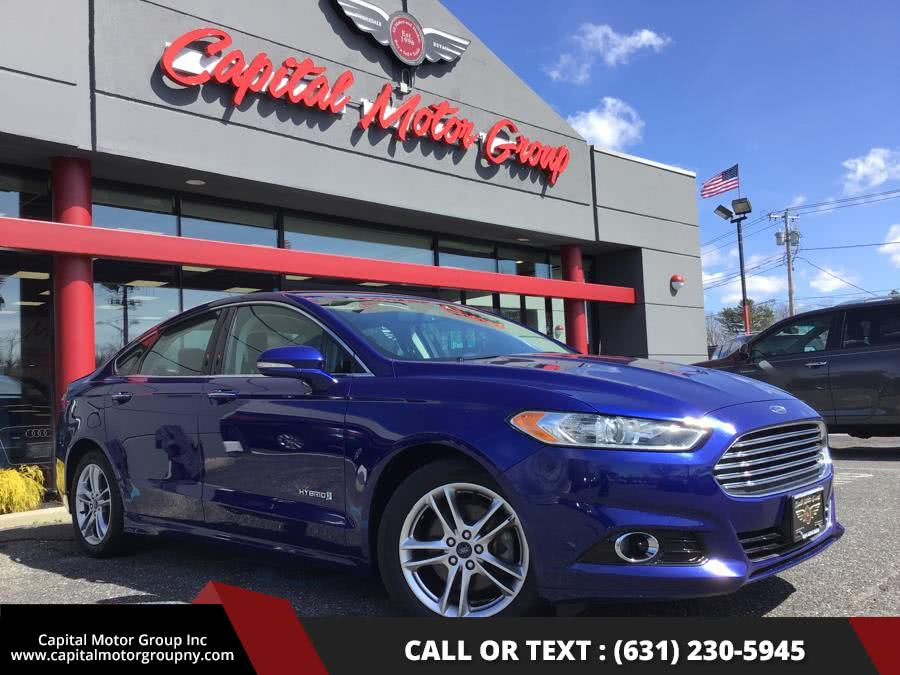Used 2015 Ford Fusion in Medford, New York | Capital Motor Group Inc. Medford, New York