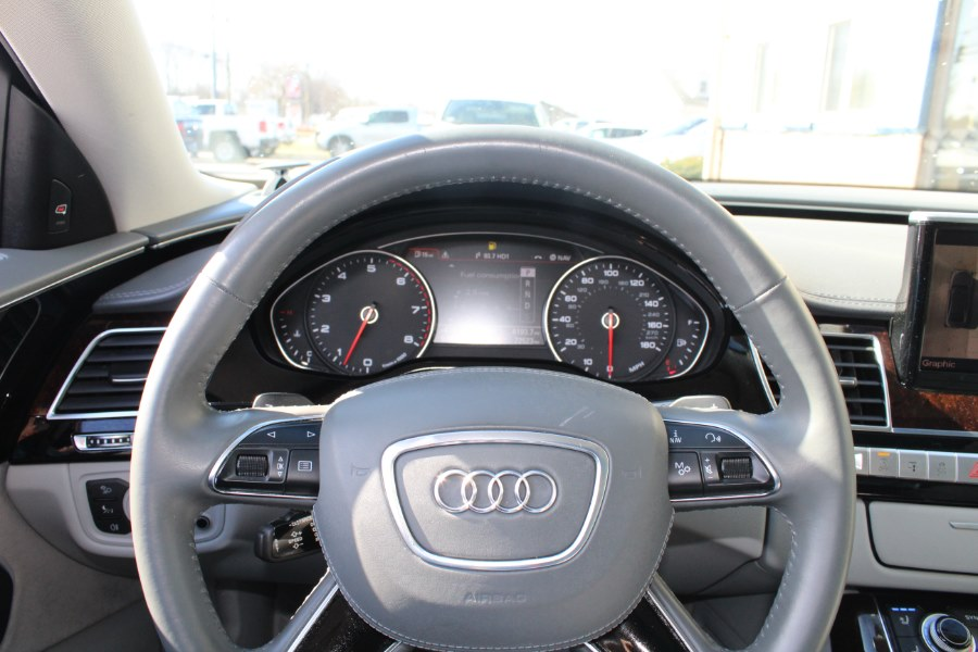 2013 Audi A8 L 4dr Sdn 4.0L, available for sale in East Windsor, Connecticut | Century Auto And Truck. East Windsor, Connecticut