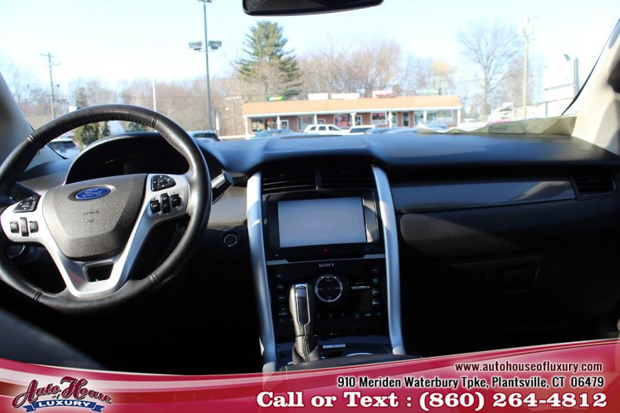 2013 Ford Edge 4dr Sport AWD, available for sale in Plantsville, Connecticut | Auto House of Luxury. Plantsville, Connecticut