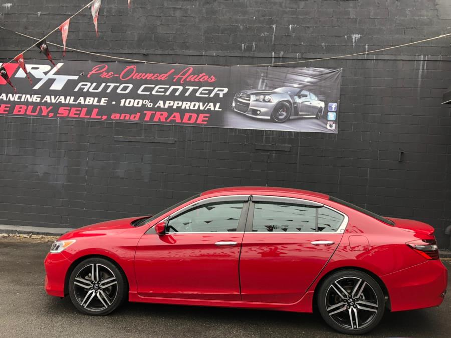 2017 Honda Accord Sedan Sport CVT, available for sale in Newark, New Jersey | RT Auto Center LLC. Newark, New Jersey