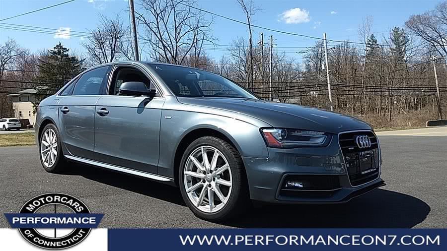 Used 2016 Audi A4 in Wilton, Connecticut | Performance Motor Cars. Wilton, Connecticut