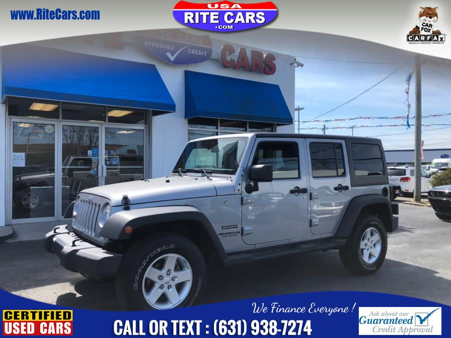 Used 2016 Jeep Wrangler Unlimited in Lindenhurst, New York | Rite Cars, Inc. Lindenhurst, New York