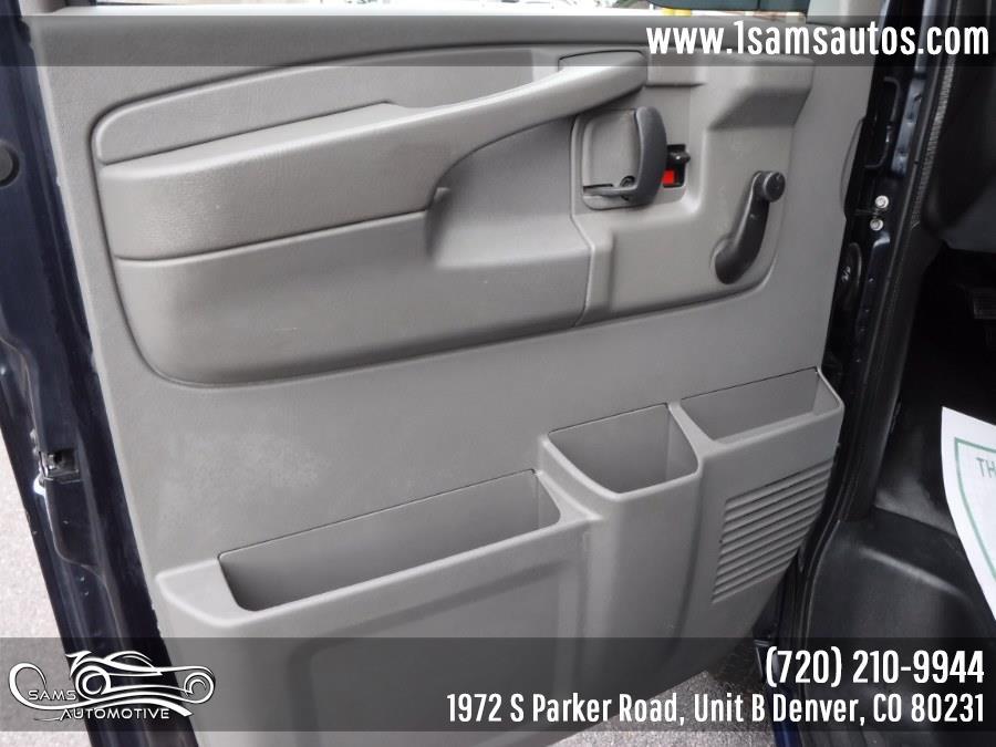 2013 GMC Savana Cargo Van RWD 2500 135