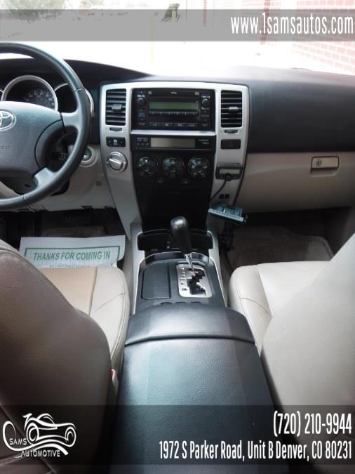 2006 Toyota 4Runner 4dr SR5 Sport V6 Auto 4WD, available for sale in Denver, Colorado | Sam's Automotive. Denver, Colorado