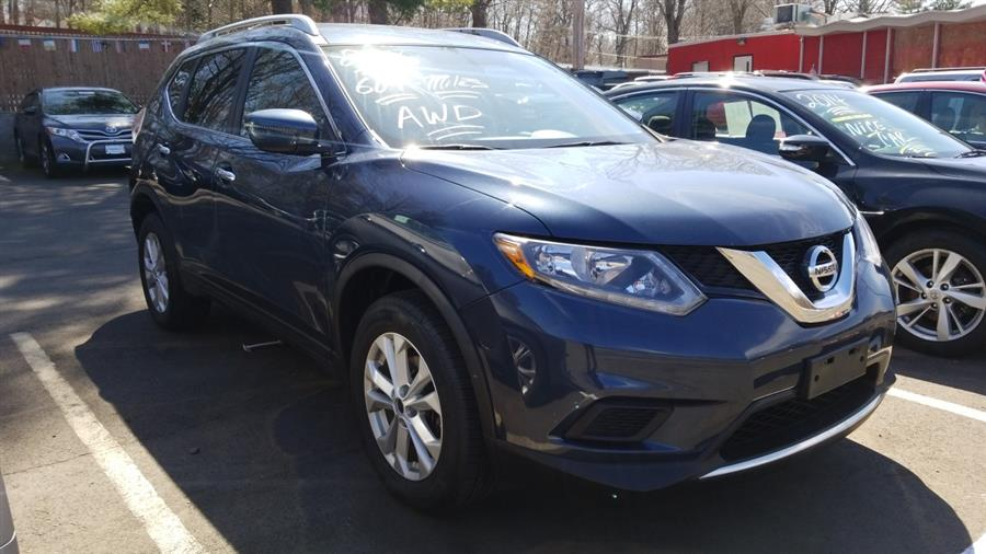 Used Nissan Rogue AWD 4dr S 2016 | State Line Auto LLC. Wethersfield, Connecticut