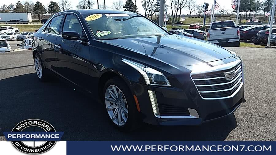 Used 2015 Cadillac CTS Sedan in Wilton, Connecticut | Performance Motor Cars. Wilton, Connecticut