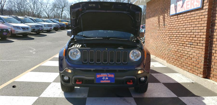 2016 Jeep Renegade 4WD 4dr Trailhawk, available for sale in Waterbury, Connecticut | National Auto Brokers, Inc.. Waterbury, Connecticut