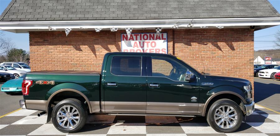 2015 Ford F-150 4WD SuperCrew King Ranch, available for sale in Waterbury, Connecticut | National Auto Brokers, Inc.. Waterbury, Connecticut