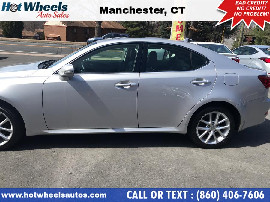 2012 Lexus IS 250 4dr Sport Sdn Auto AWD, available for sale in Manchester, Connecticut | Hot Wheels Auto Sales LLC. Manchester, Connecticut