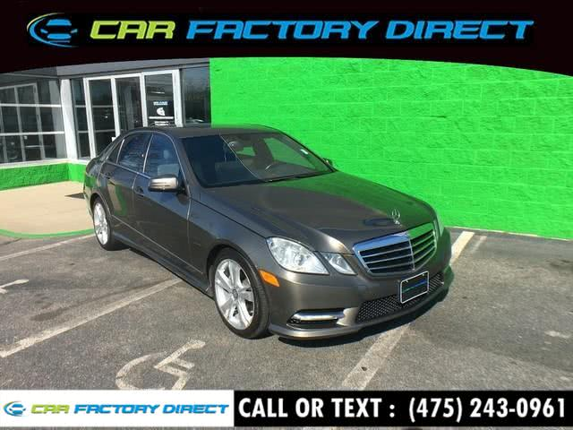 Used 2013 Mercedes-benz E-class in Milford, Connecticut | Car Factory Direct. Milford, Connecticut