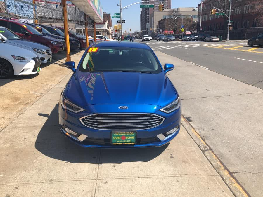 Used 2018 Ford Fusion in Jamaica, New York | Sylhet Motors Inc.. Jamaica, New York