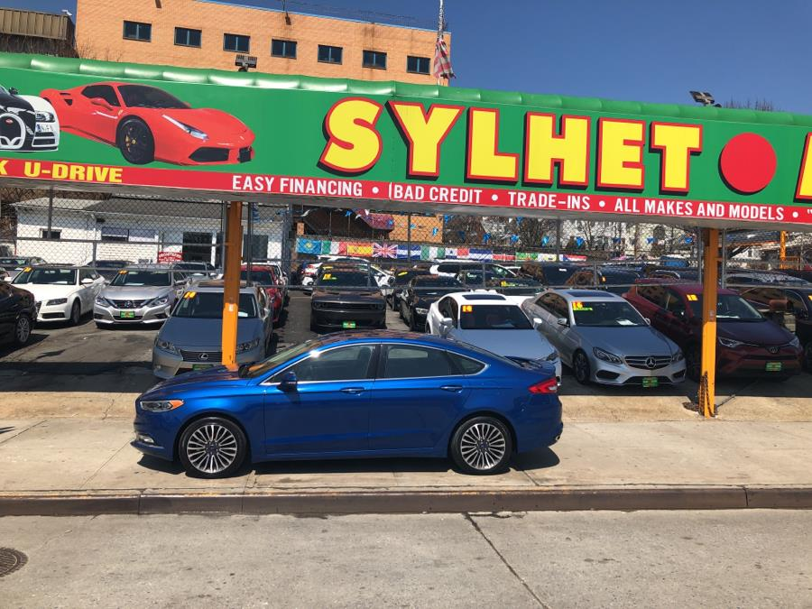 2018 Ford Fusion Platinum AWD, available for sale in Jamaica, New York | Sylhet Motors Inc.. Jamaica, New York