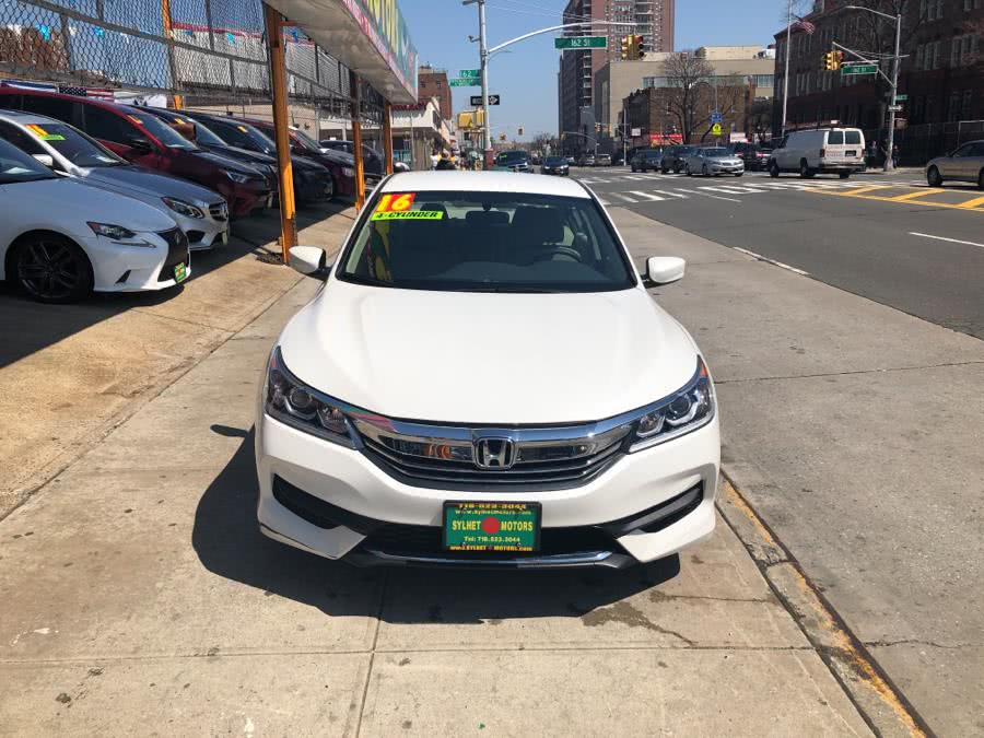 Used 2016 Honda Accord Sedan in Jamaica, New York | Sylhet Motors Inc.. Jamaica, New York