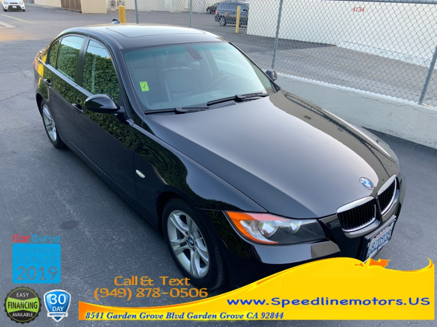2008 BMW 3 Series 4dr Sdn 328i RWD SULEV, available for sale in Garden Grove, California | Speedline Motors. Garden Grove, California