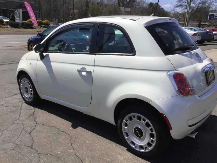 2012 FIAT 500 2dr HB Pop, available for sale in Plantsville, Connecticut | L&S Automotive LLC. Plantsville, Connecticut