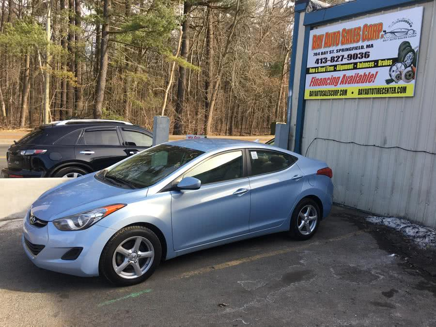 Used 2013 Hyundai Elantra in Springfield, Massachusetts | Bay Auto Sales Corp. Springfield, Massachusetts