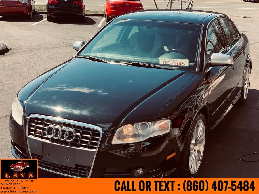 Used 2008 Audi S4 in Canton, Connecticut | Lava Motors. Canton, Connecticut
