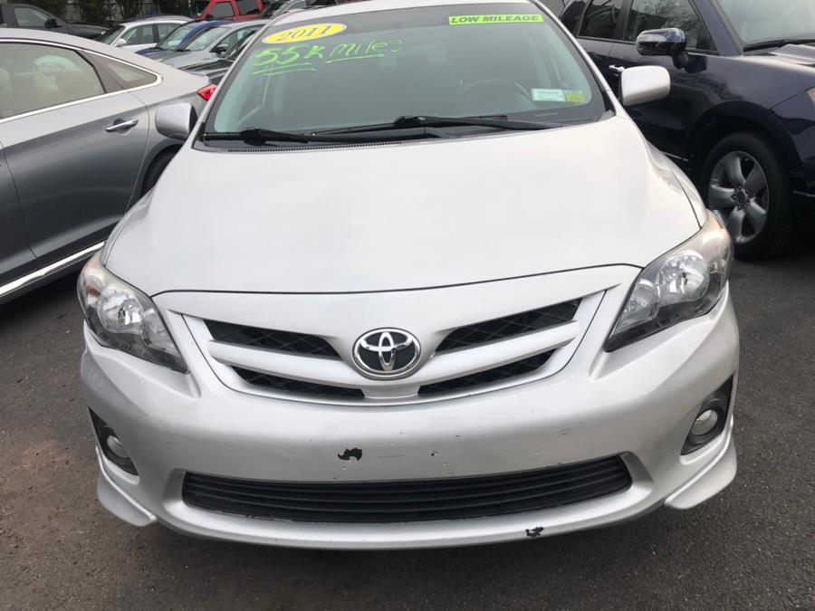 2011 Toyota Corolla S, available for sale in New Britain, Connecticut | Central Auto Sales & Service. New Britain, Connecticut