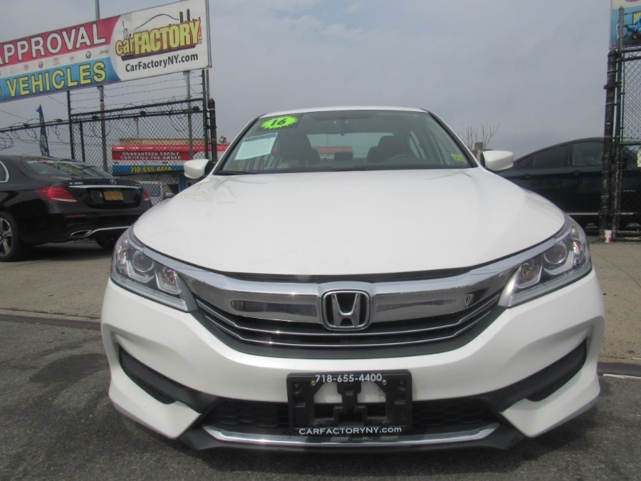 2016 Honda Accord Sedan 4dr I4 CVT LX, available for sale in Bronx, New York | Car Factory Inc.. Bronx, New York