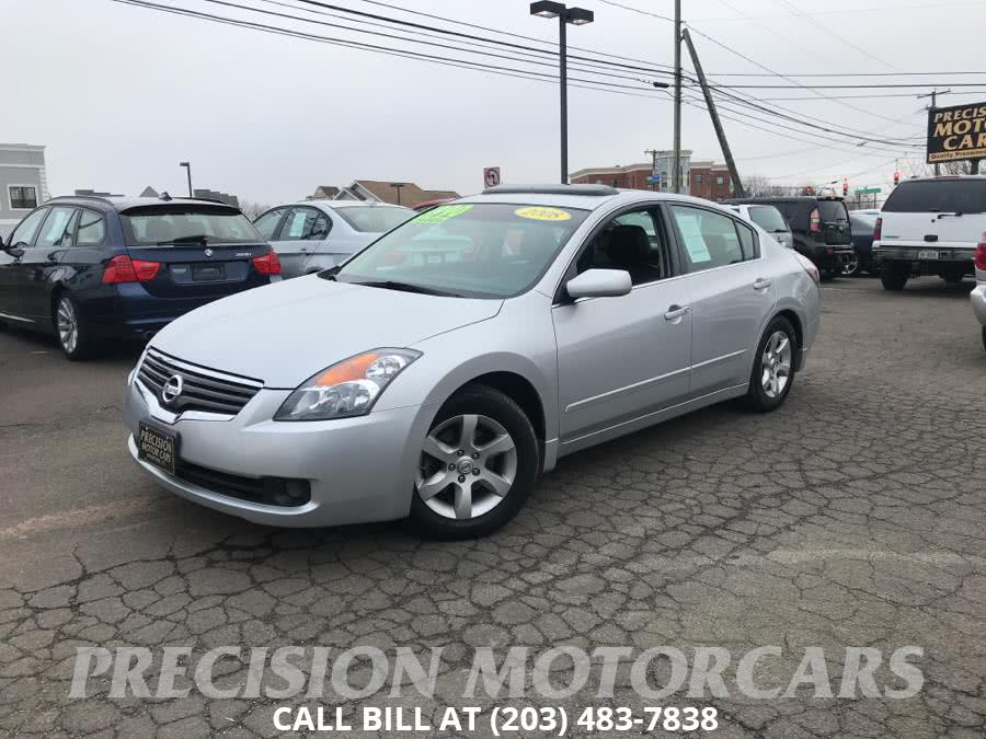 Used Nissan Altima 4dr Sdn I4 CVT 2.5 SL ULEV 2008 | Precision Motor Cars LLC. Branford, Connecticut