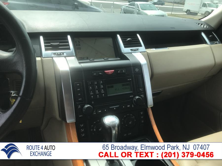 2009 Land Rover Range Rover Sport 4WD 4dr SC, available for sale in Elmwood Park, New Jersey | Route 4 Auto Exchange. Elmwood Park, New Jersey