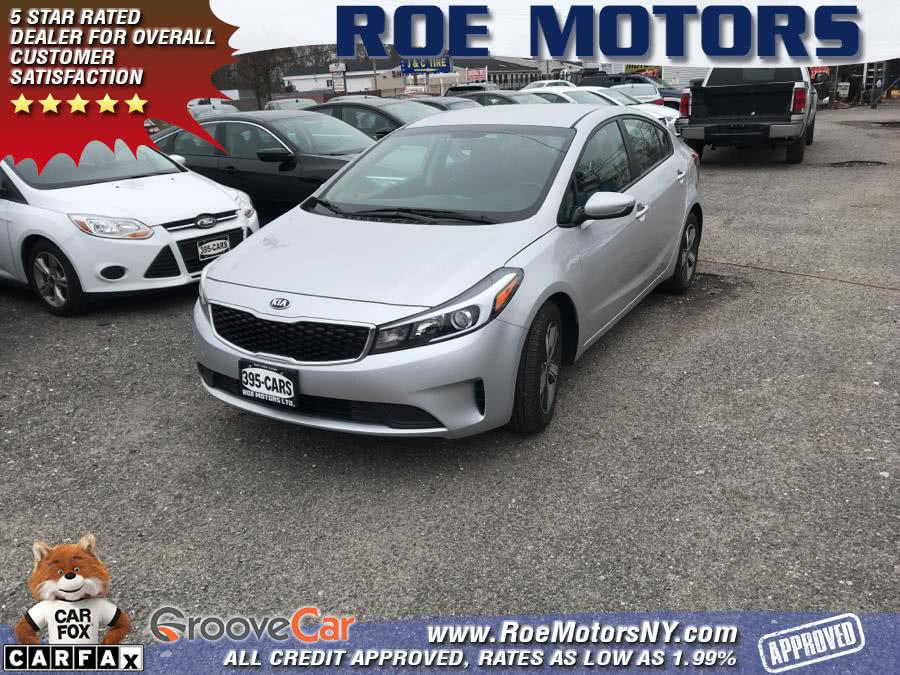2018 Kia Forte LX Auto, available for sale in Shirley, New York | Roe Motors Ltd. Shirley, New York