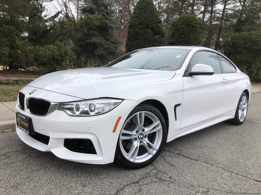 2015 BMW 4 Series 2dr Cpe 428i xDrive AWD, available for sale in Franklin Square, New York | Luxury Motor Club. Franklin Square, New York