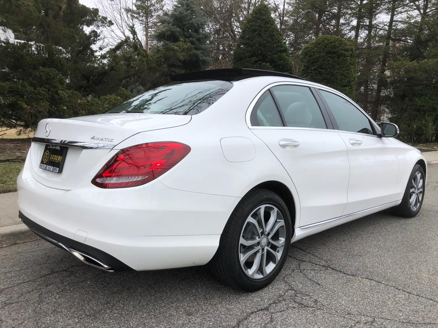 2016 Mercedes-Benz C-Class 4dr Sdn C300 4MATIC, available for sale in Franklin Square, New York | Luxury Motor Club. Franklin Square, New York
