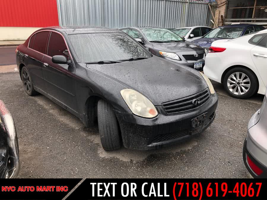 Used 2005 Infiniti G35 Sedan in Brooklyn, New York | NYC Automart Inc. Brooklyn, New York