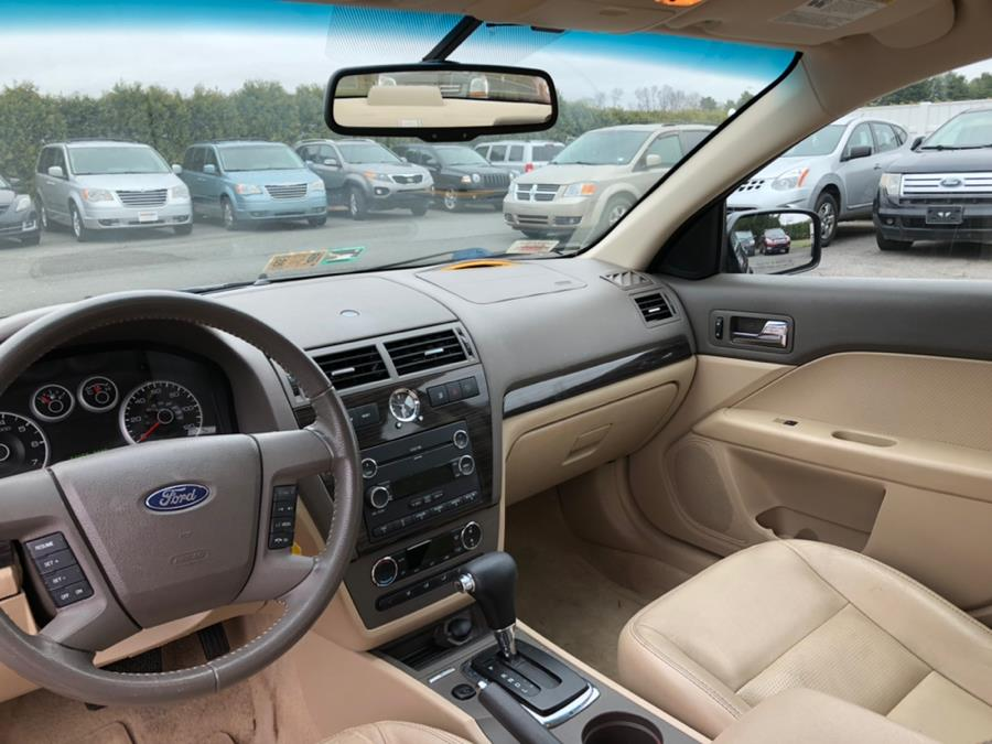 2009 Ford Fusion 4dr Sdn V6 SEL AWD, available for sale in East Windsor, Connecticut | Stop & Drive Auto Sales. East Windsor, Connecticut