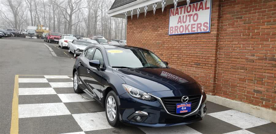 2016 Mazda Mazda3 5dr HB Auto i Touring, available for sale in Waterbury, Connecticut | National Auto Brokers, Inc.. Waterbury, Connecticut