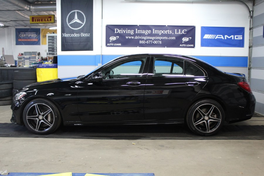 2016 Mercedes-Benz C-Class 4dr Sdn C 450 AMG 4MATIC, available for sale in Farmington, Connecticut | Driving Image Imports LLC. Farmington, Connecticut