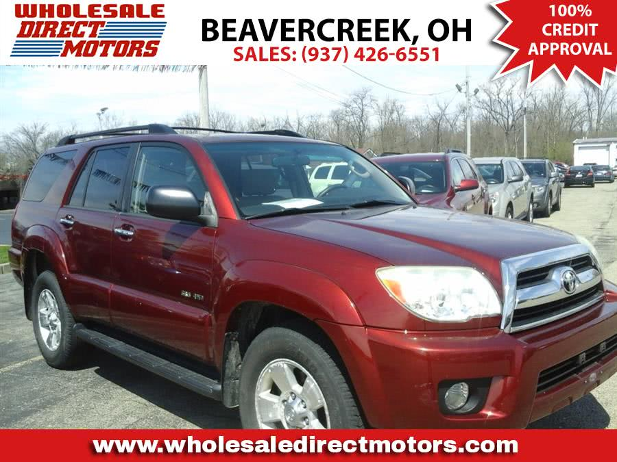 Used 2007 Toyota 4Runner in Beavercreek, Ohio | Wholesale Direct Motors. Beavercreek, Ohio