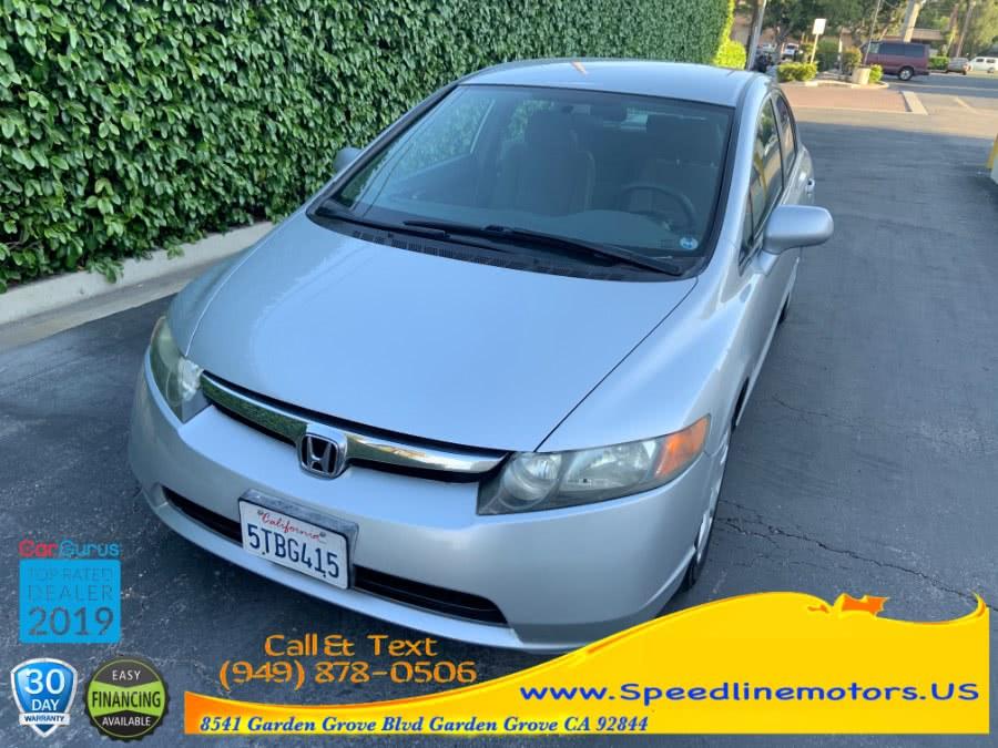 Used 2006 Honda Civic Sdn in Garden Grove, California | Speedline Motors. Garden Grove, California