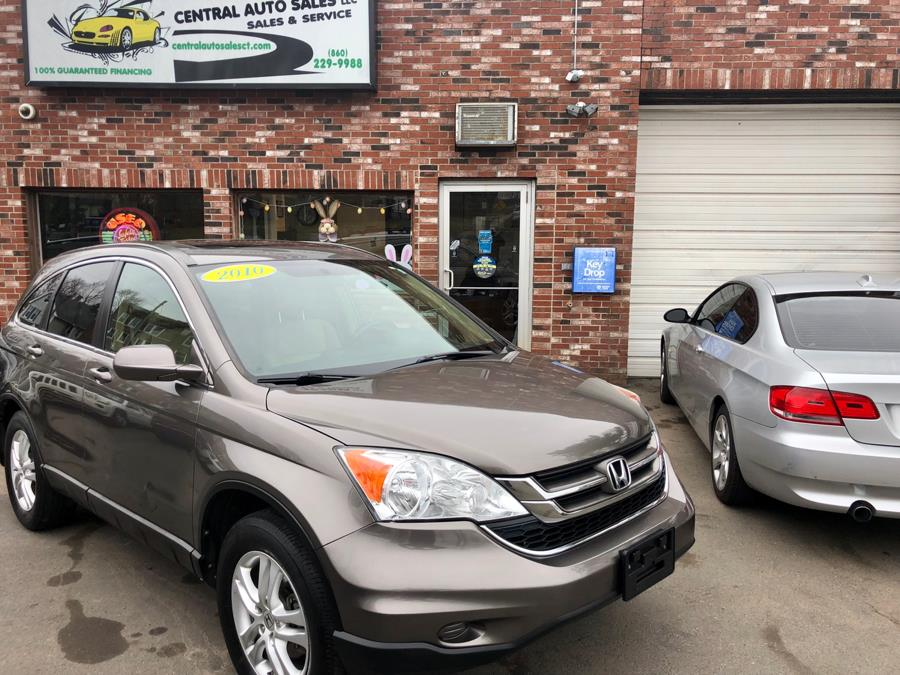 2010 Honda CR-V EX-L, available for sale in New Britain, Connecticut | Central Auto Sales & Service. New Britain, Connecticut