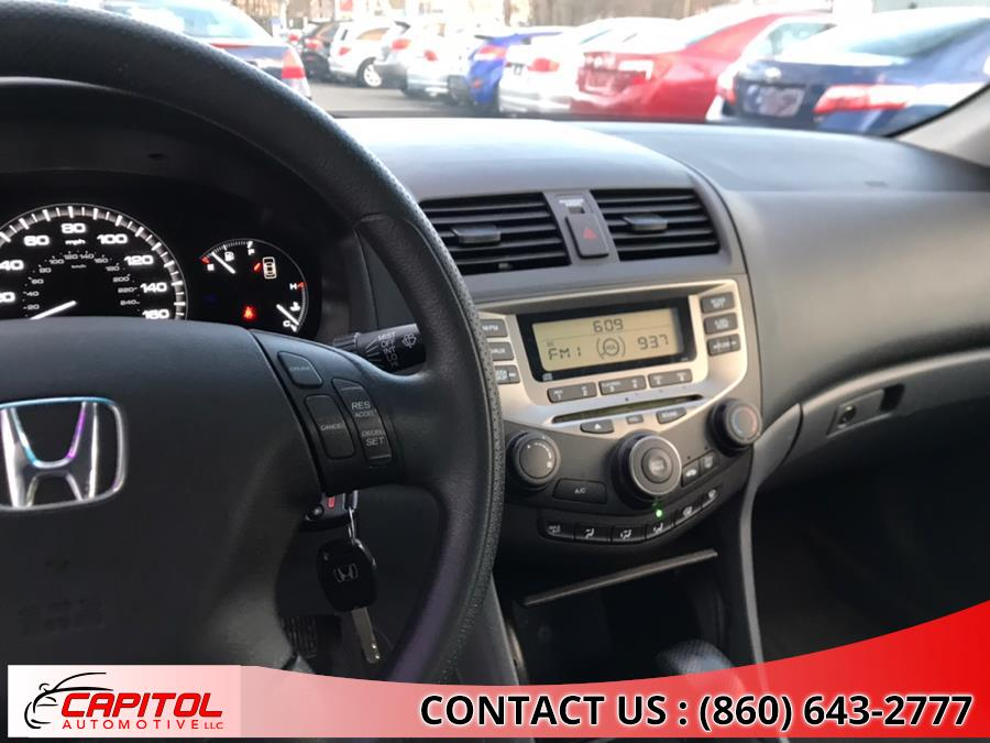2007 Honda Accord Sdn 4dr I4 AT LX PZEV, available for sale in Manchester, Connecticut   Capitol Automotive 2 LLC. Manchester, Connecticut