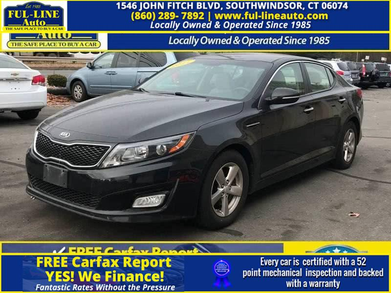 Used Kia Optima 4dr Sdn LX 2015 | Ful-line Auto LLC. South Windsor , Connecticut