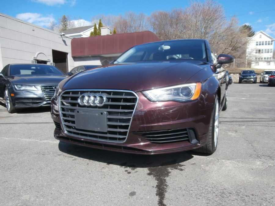 2015 Audi A3 4dr Sdn FWD 2.0 TDI Premium Plus, available for sale in Waterbury, Connecticut | Jim Juliani Motors. Waterbury, Connecticut
