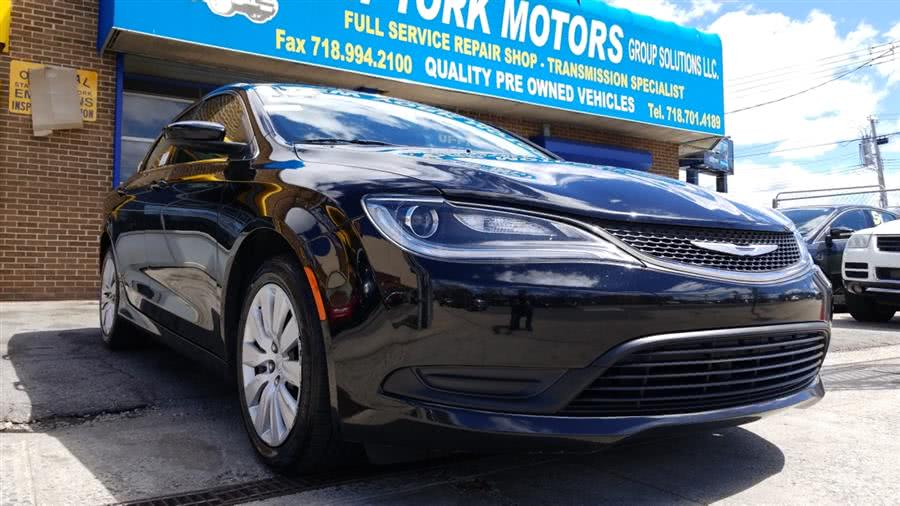 Used 2015 Chrysler 200 in Bronx, New York | New York Motors Group Solutions LLC. Bronx, New York