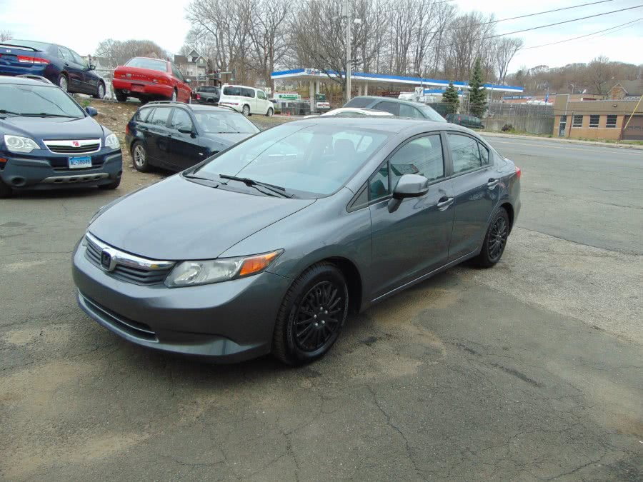 2012 Honda Civic Sdn LX, available for sale in Danbury, CT