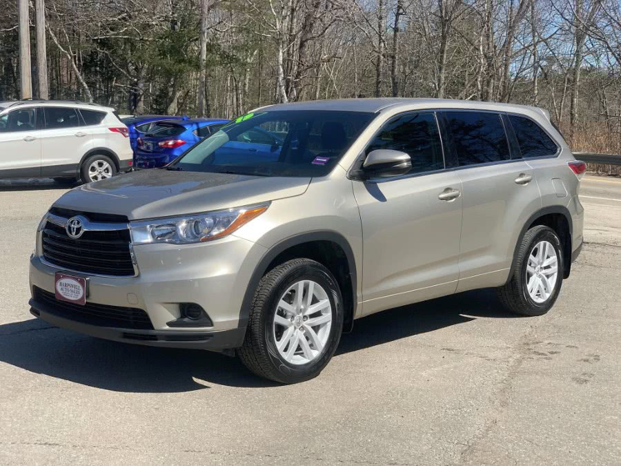 Used 2015 Toyota Highlander in Harpswell, Maine | Harpswell Auto Sales Inc. Harpswell, Maine